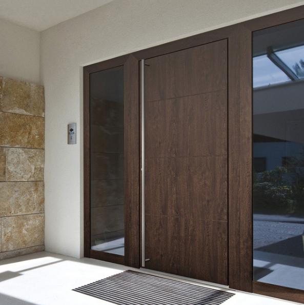 Porte pleine bois internorm