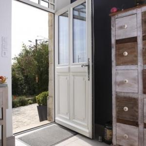 Porte Eva semi-vitrée Atulam