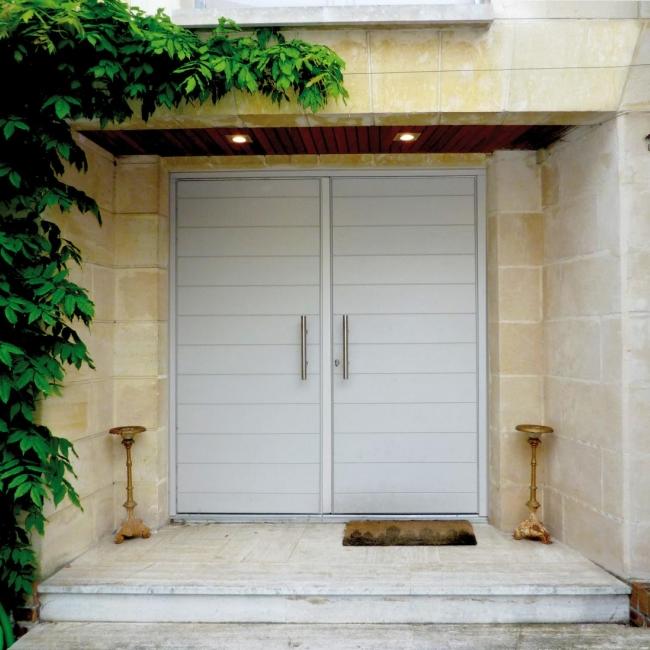 Porte à lames Alexandra deux vantaux Atulam